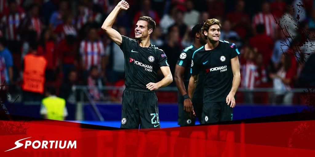 Apuestas a los partidos de Champions (sin españoles) del miércoles