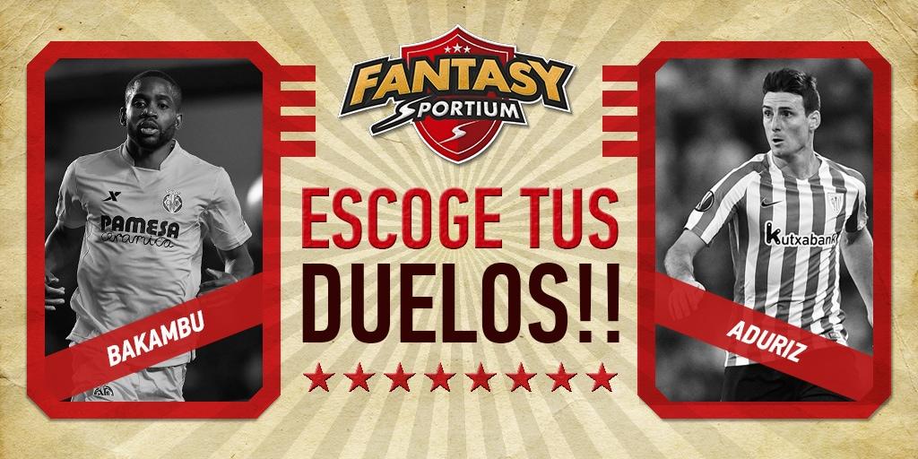 Los cuatro duelos de la jornada 10 de la Liga en Sportium Fantasy