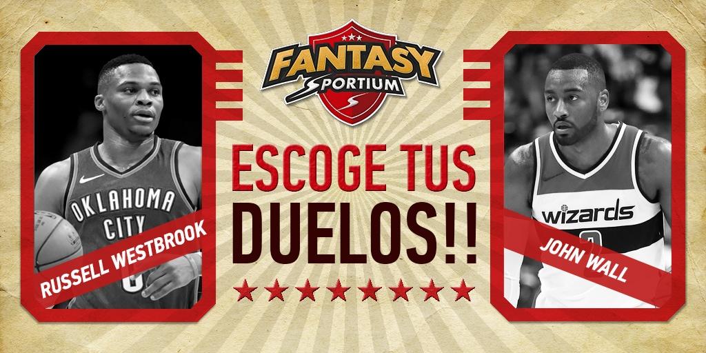 Sugerencias para los duelos más destacados de Sportium Fantasy de NBA