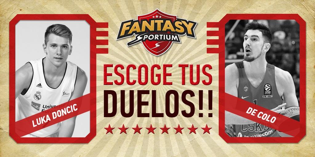 Fantasy Sportium de Euroliga: previa y estadísticas de los mejores duelos
