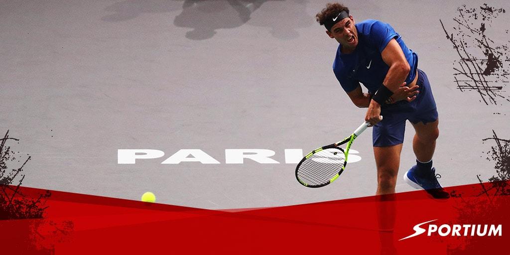 Nadal y Verdasco lideran las apuestas al Masters de París de este viernes