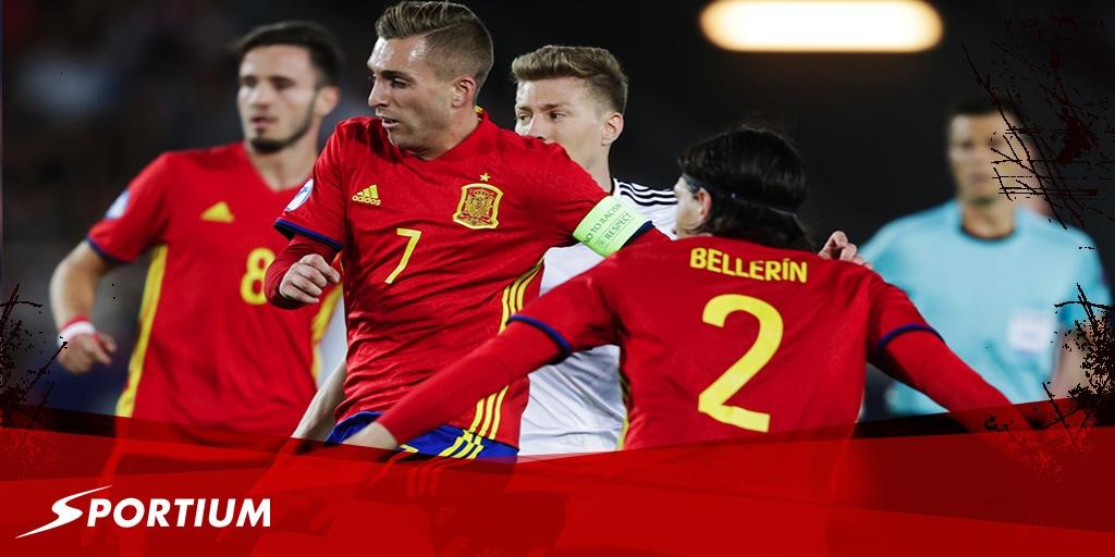 Las mejores apuestas para el partido de España sub 21 de este jueves
