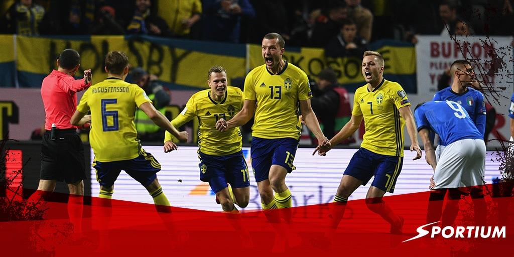 Las apuestas al decisivo Italia-Suecia desde todos los puntos de vista