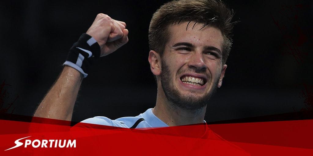 Los partidos que deciden las semifinales de las Next Gen ATP Finals