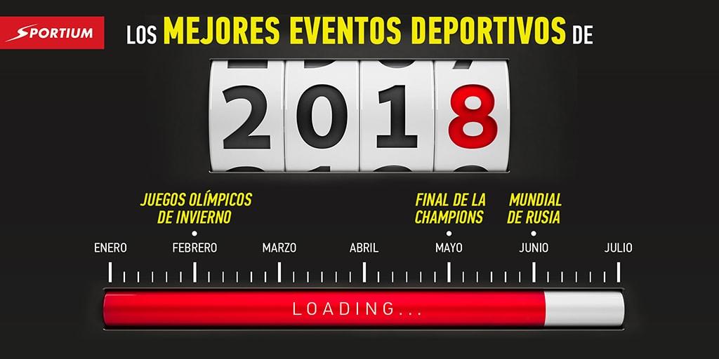 Calendario deportivo 2018: Los mejores eventos del año