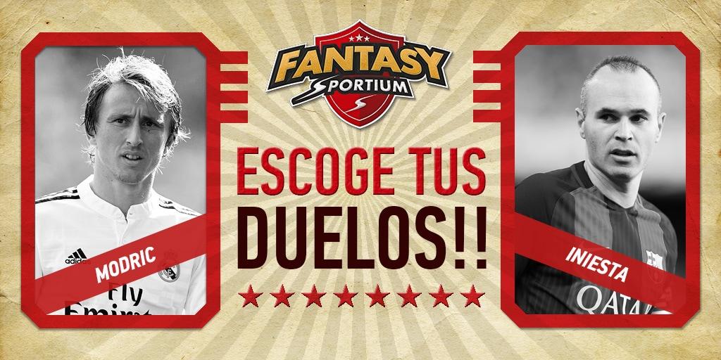Los 5 duelos destacados de Fantasy Sportium en su jornada 19