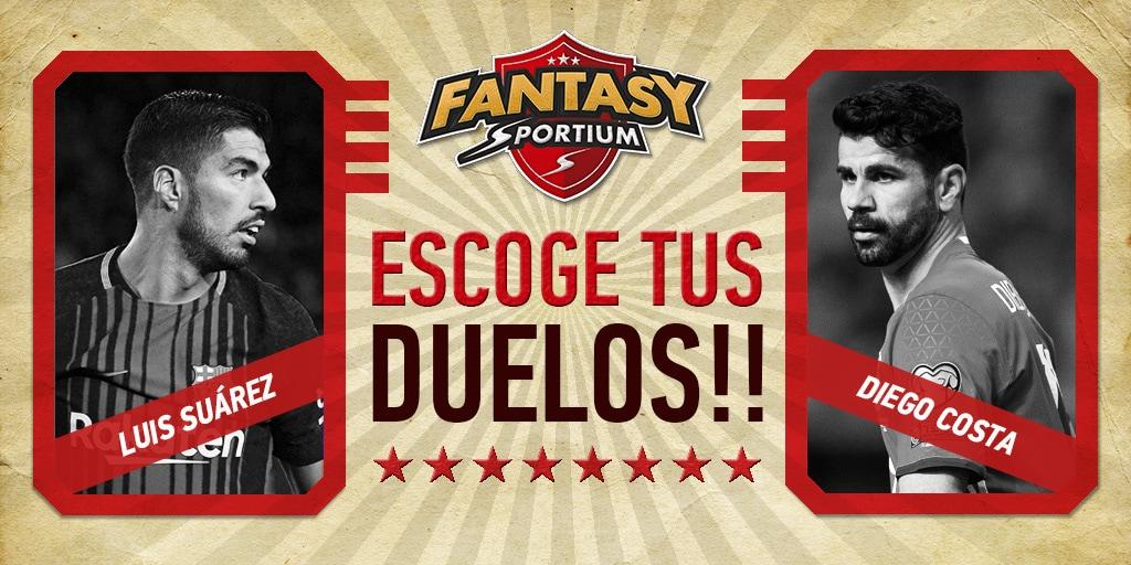 5 duelos para ser el Rey de Fantasy Sportium esta semana