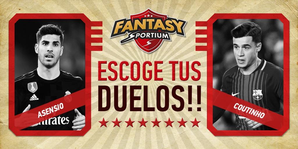 Fantasy Sportium: 5 duelos para disfrutar de la jornada 26