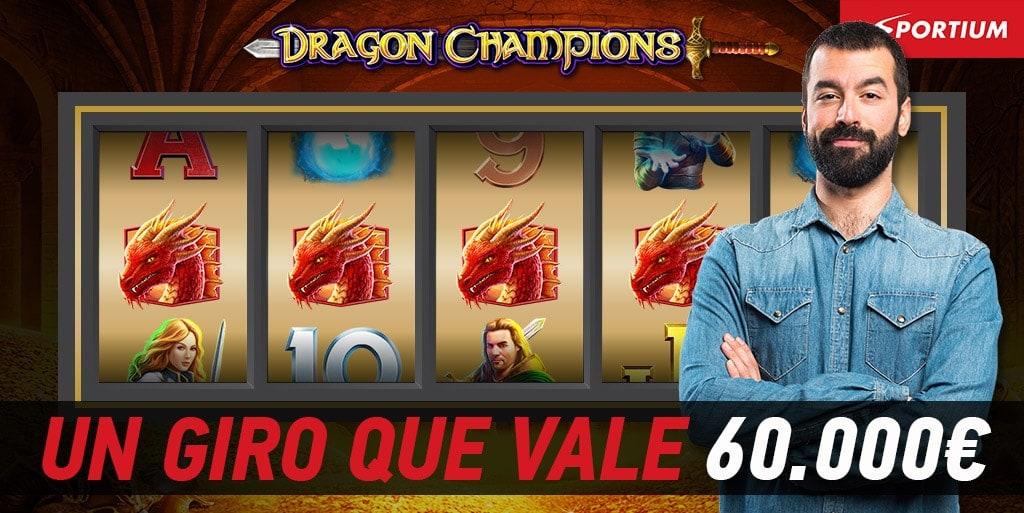 Un giro de casi 60.000€ con Dragon Champions