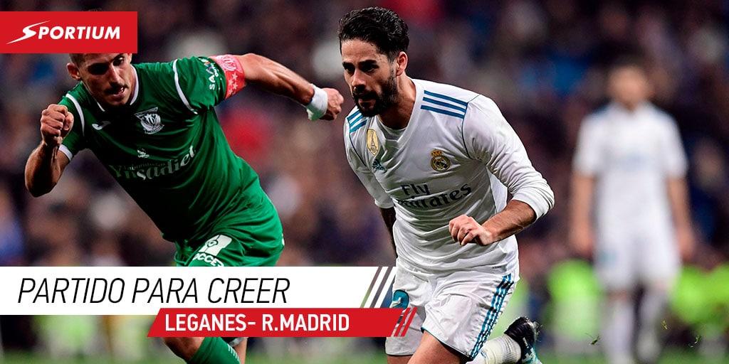 Apuestas a la Liga: Cuotas para el Leganés-Real Madrid del miércoles