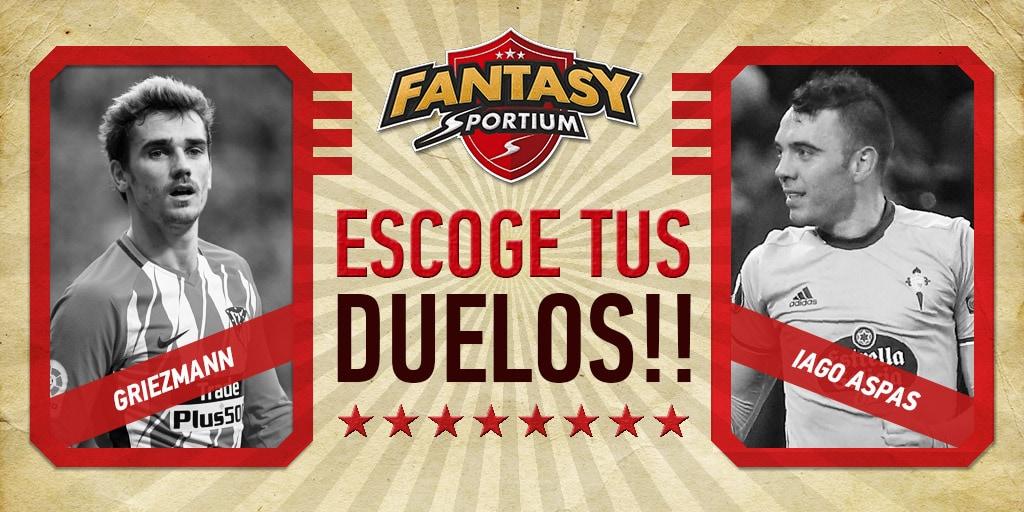 Fantasy Sportium: Los 5 duelos destacados de la jornada 25