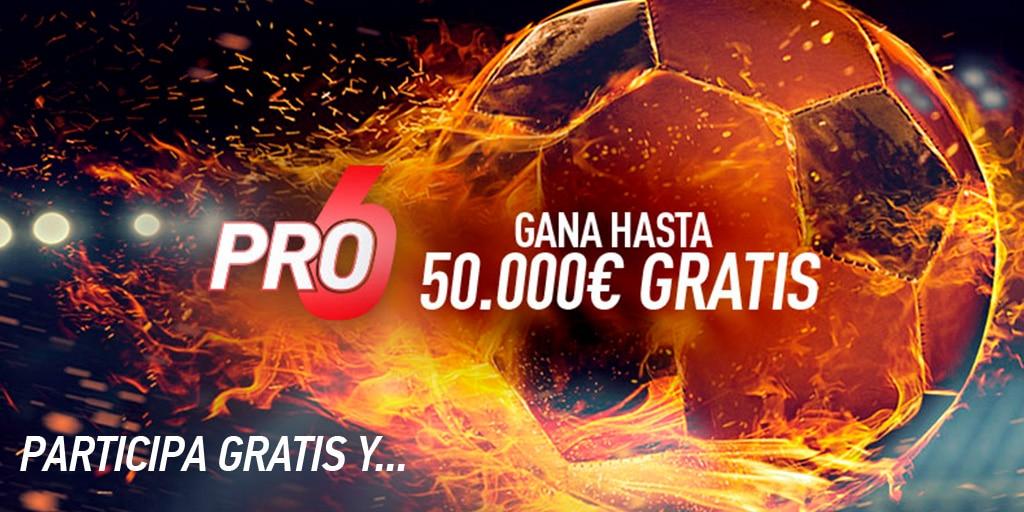 Sportium PRO6: ¡Seguimos buscando esos 50.000€ con 6 partidazos!
