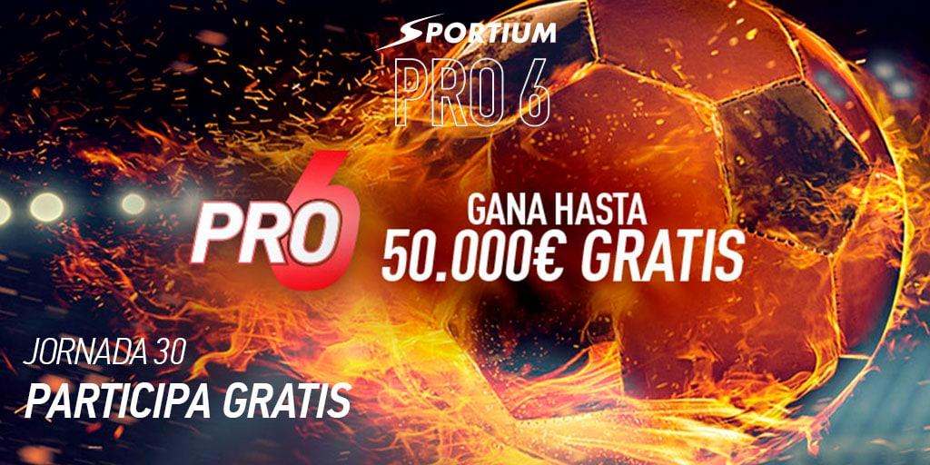 Sportium PRO6: ¡Los partidazos de esta semana con 50.000€ en juego!