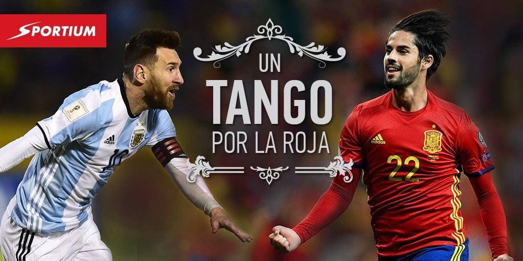 20 Apuestas para vibrar con el España – Argentina (y otros 3 partidazos)