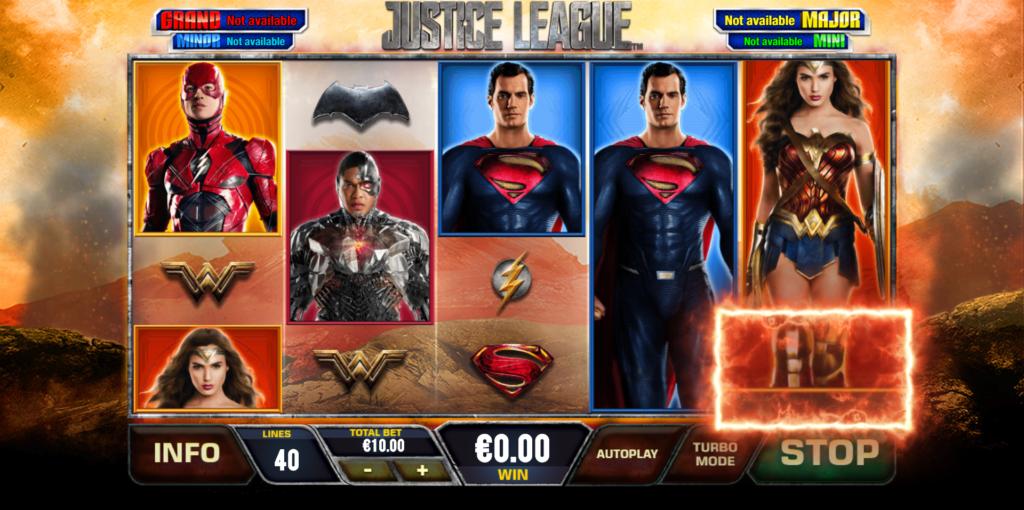 slot justice league