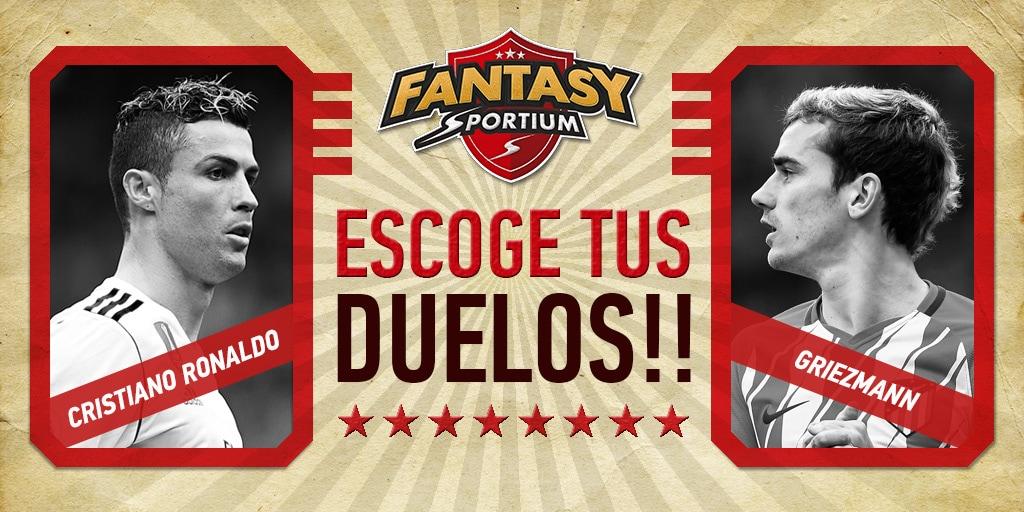 Cristiano vs Griezmann… ¡Y otros 4 duelos en Fantasy Sportium!