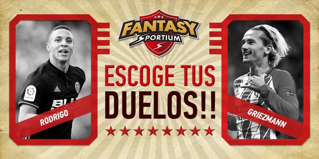 Rodrigo vs Griezmann… ¡Y 4 duelos más de infarto en Fantasy Sportium!