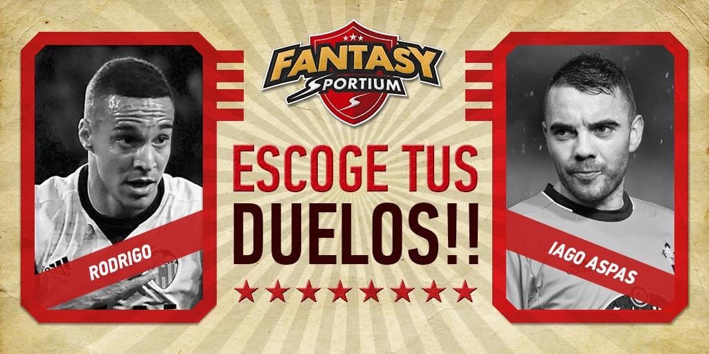 Iago Aspas vs Rodrigo: ¿Quién ganará en Fantasy Sportium esta semana?