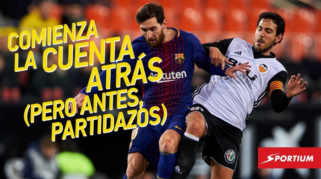 Las mejores apuestas al Barça – Valencia, y más cuotas de la jornada 32