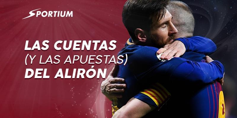 Apuestas al Deportivo – Barcelona y otros 3 partidos de la jornada 35