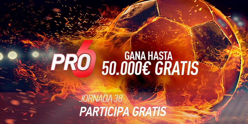 ¡El Clásico, dos derbis y mucho más, esta semana en Sportium PRO6!