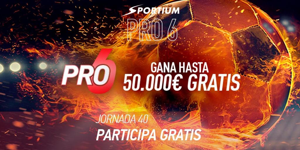 Apuestas a la última jornada de Liga en Sportium PRO6… ¡Y mucho más!