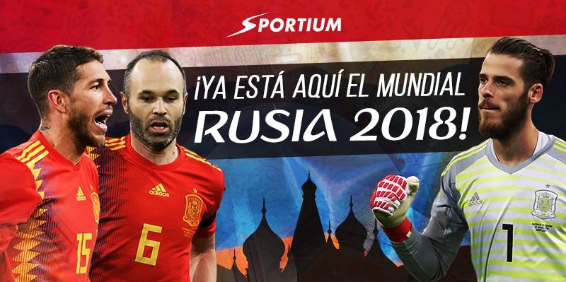 ¡Ya está aquí el Mundial de Rusia 2018!