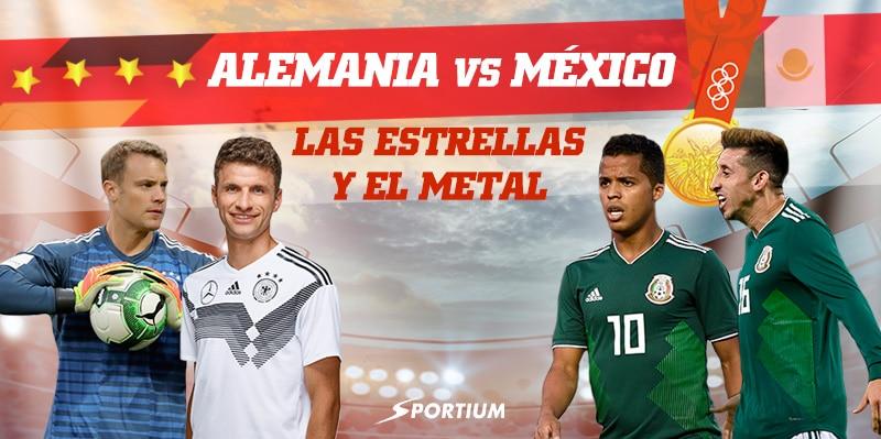 Apuestas Alemania – México: ¡A por la defensa del título!