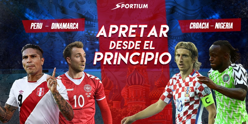 Apuestas Perú – Dinamarca y Croacia – Nigeria: ¡Dos Finales para empezar!