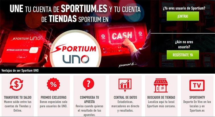 ¿Qué es Sportium UNO?