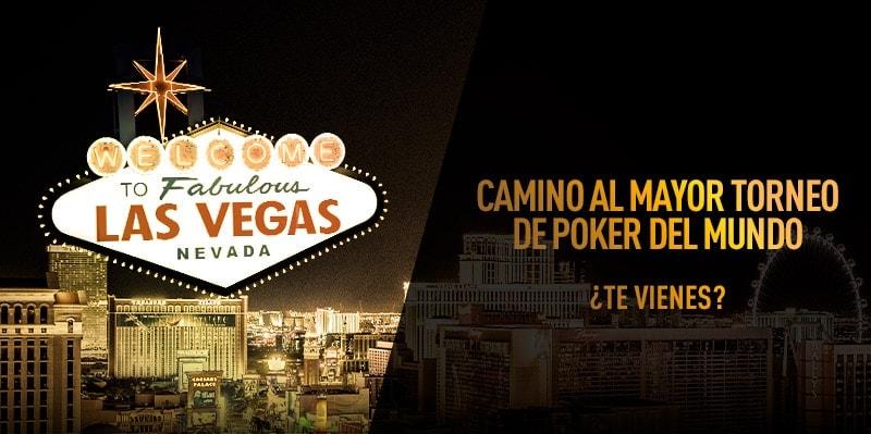 Sportium te lleva al mejor torneo de Poker de Las Vegas