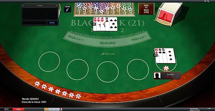 BlackJack multijugador gratis