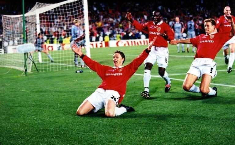 Final Champions 1999: Bayern - Man United
