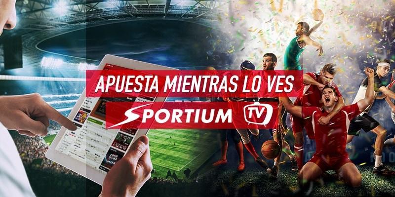Sportium TV: apostar al mejor deporte mientras lo ves