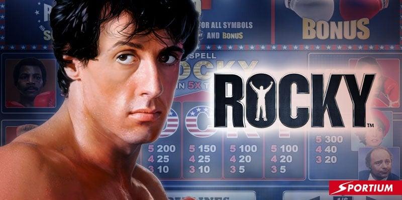 Tragaperras Rocky, los slots más duras