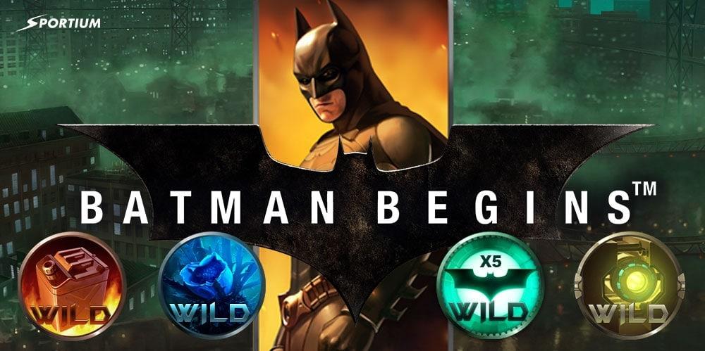Batman Begins Slot: Ahora tu eres el héroe