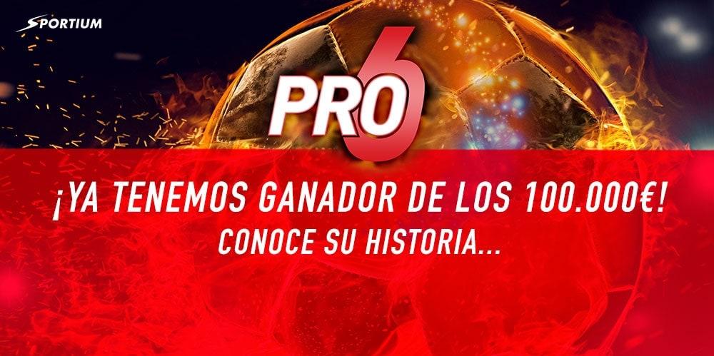 Conoce al ganador de los 100.000€ del PRO6