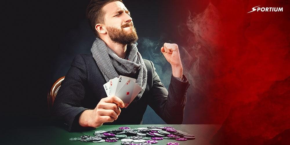 Superar Tilt en póker: sal de una desventaja