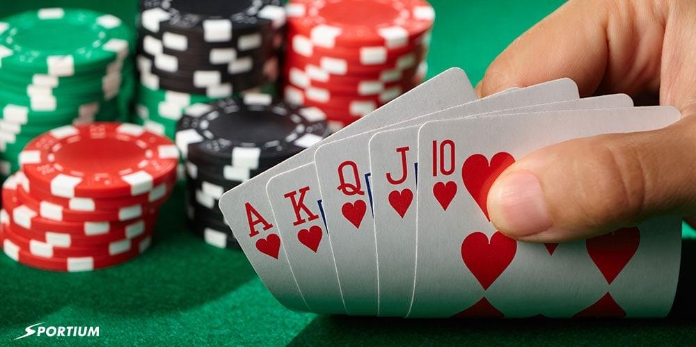 Orden de manos del póker: Chuleta y mejores combos