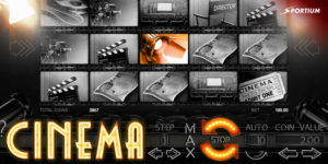 Rodillos en horizontal de Slot Cinema