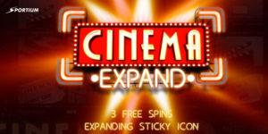 Bono 'Cinema Expand' del Slot Cinema