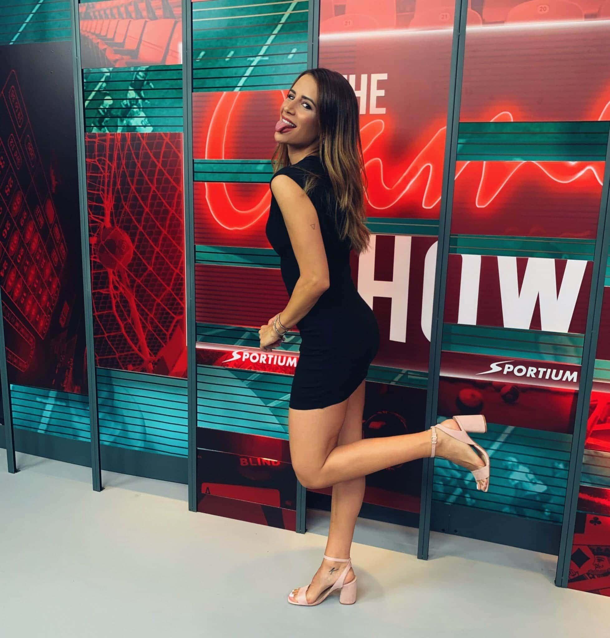 Cristina Porta, presentadora de The Game Show by Sportium