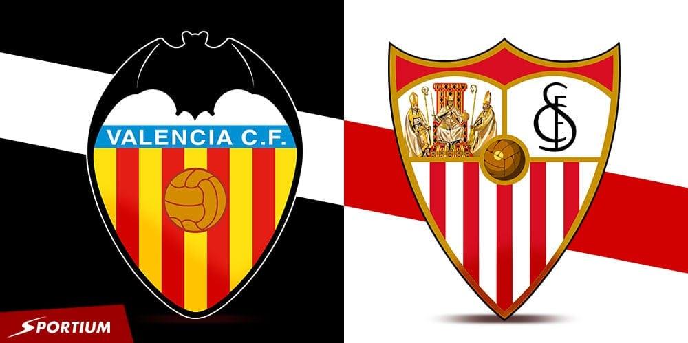 Apuestas Valencia Sevilla: Pronósticos del duelo en mayúsculas