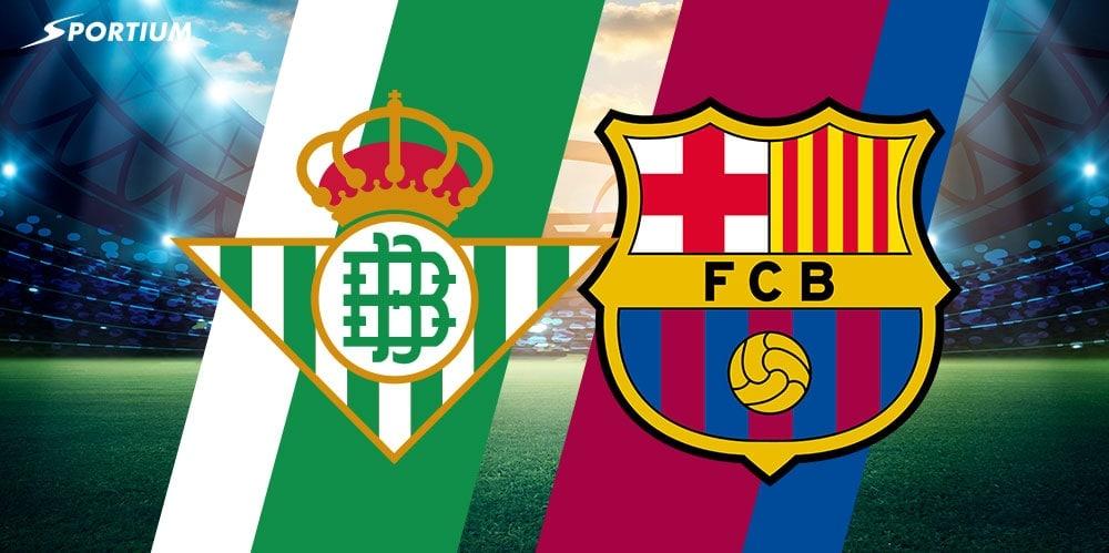 Apuestas Betis Barcelona: Pronósticos al partido con más goles