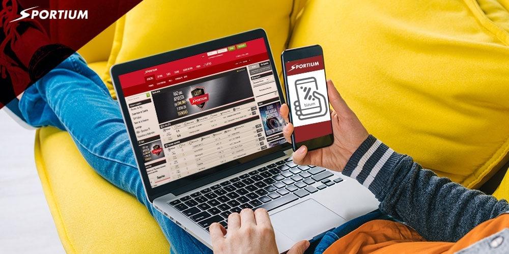 Bizum para tus apuestas deportivas y casino con Sportium